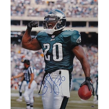 Shop Brian Dawkins signed Philadelphia Eagles 16x20 Photo 20 verticalgreen  jerseyflex - Free Shipping Today - Overstock - 19869363 12520bb3b