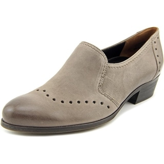 Paul Green Egan Women Round Toe Leather Gray Mules