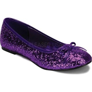 Funtasma Women's Star 16G Purple Glitter