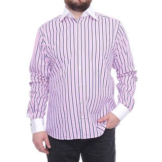 Eton Long Sleeve Collared Button Down Men Regular Dress Button