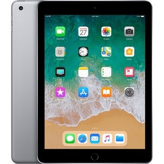 "Apple iPad 2018 9.7"" Tablet (6th Generation, 128GB, Wi-Fi Only, Space Gray)"