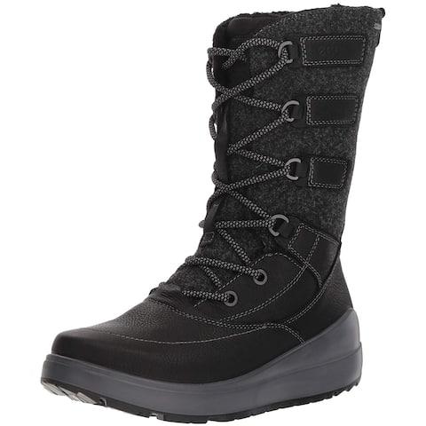 ECCO Womens Noyce Closed Toe Mid-Calf Cold Weather Boots