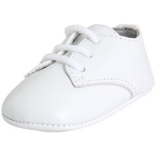 Designer's Touch Leather Infant Oxfords