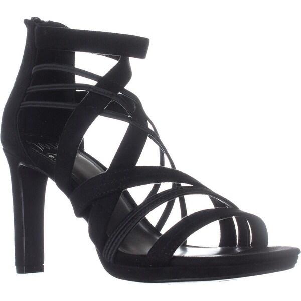 Impo Temple Strappy Dress Sandals, Black