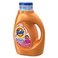 Tide 13844 Downy Liquid Laundry Detergent, April Fresh Scent, 50 Oz