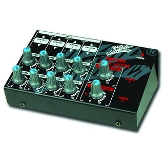 ZEBRA DUAL CHANNEL MINI MIXER