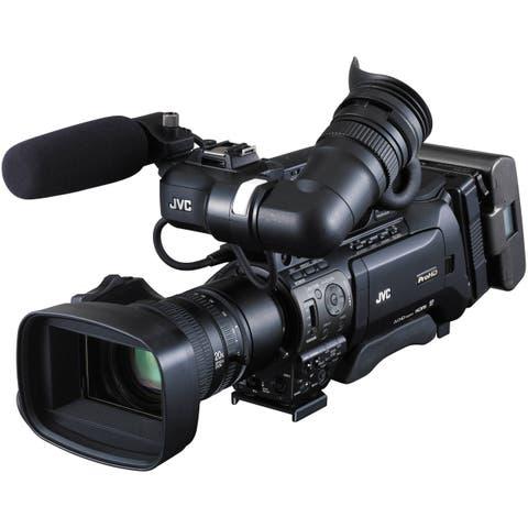 JVC GY-HM850U ProHD Compact Shoulder Mount Camera with Fujinon 20x Lens (Open Box)
