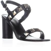 Marc Fisher Panna Ankle Strap Sandals, Black