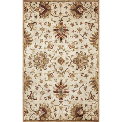 Domani Alexandria Classic Tapestry Hand-tufted Wool Area Rug