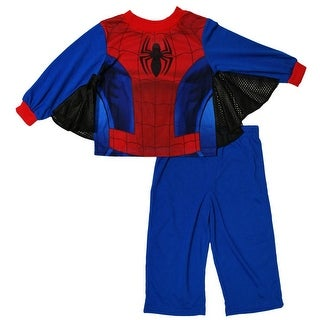 Marvel Boys 2T-4T Spider-Man Sleep Set - Blue