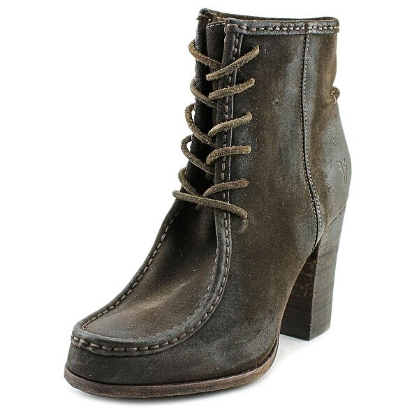 Frye Parker Round Toe Leather Ankle Boot