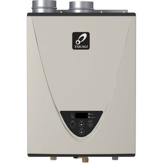 Takagi T-H3J-DV-NG TH3 Series 160000 BTU Direct Vent Whole House Natural Gas Tankless Water Heater