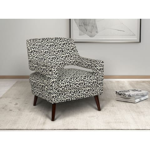 Maddie Button Tufted Wingback Chair