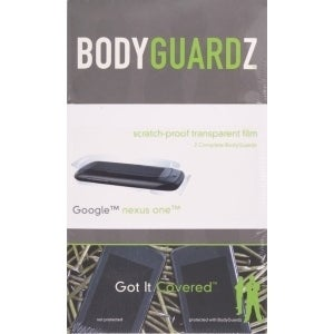 BodyGuardz - Screen Protector for HTC Google Nexus One - Body & Screen