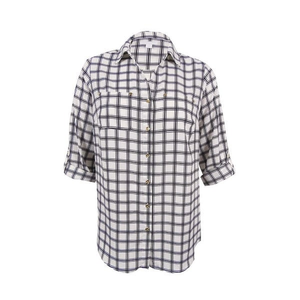 4246287087d Shop Charter Club Women s Plus Size Utility Shirt (1X