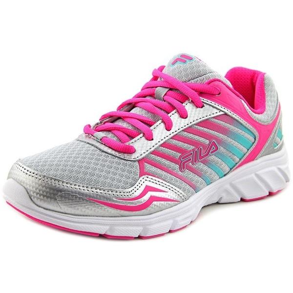 Fila Gamble Women Silver/Pink Glow/Cockatoo Sneakers Shoes