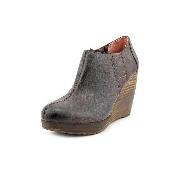 a55ed16b330 Shop Dr. Scholl s Harlie Women Round Toe Synthetic Brown Bootie ...