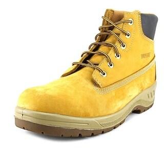 Wolverine Waterproof Men Round Toe Leather Work Boot