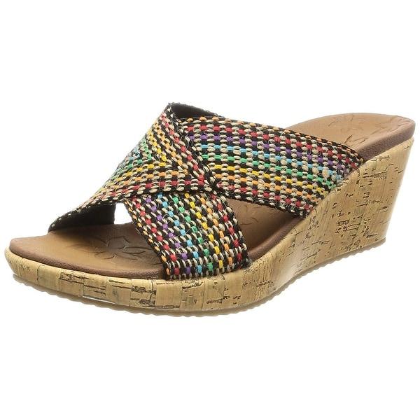 269aa42b4acb Shop Skechers Cali Women s Beverlee Delighted Wedge Sandal