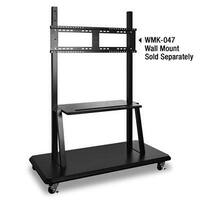Viewsonic Lb-Stnd-003 Rolling Trolley Cart Stand Blk