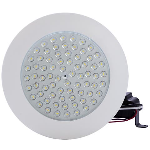 """6"""" 9W 5000K LED Clear Lens Dimmable Downlight Flush Mount"""