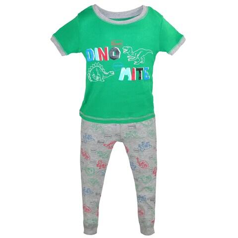 Only Boys Boy's Toddler 3 Piece Tee Short Pant Pajama Set