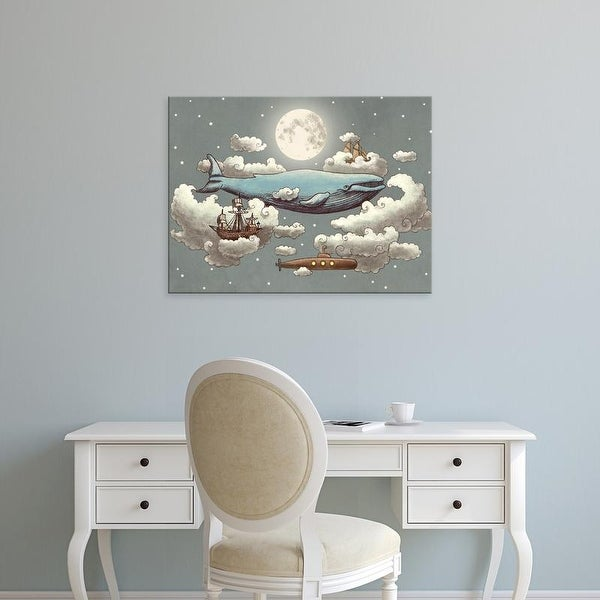 Easy Art Prints Terry Fan's 'Ocean Meets Sky Original' Premium Canvas Art