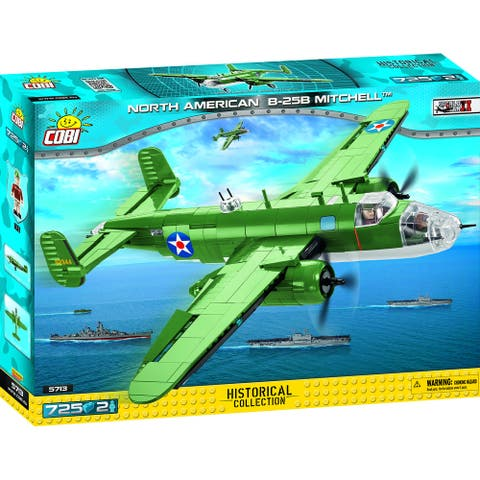 COBI Small Army North American B-25 Mitchell 710 Piece Construction Blocks Building Kit