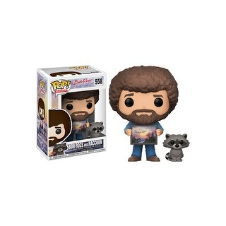 Pop! TV: Bob Ross w/ Raccoon