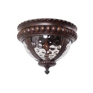 Jeremiah Lighting Z1267 2 Light Down Light Outdoor Flushmount Ceiling Fixture from the Prescott II Collection
