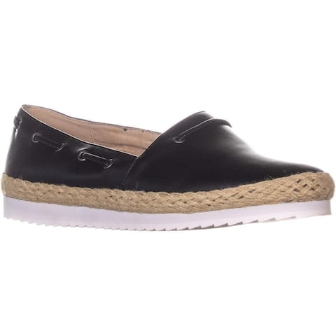 Callisto Highlighter Slip On Espadrilles, Black