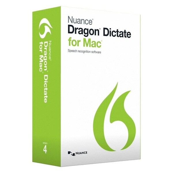 Nuance Dragon Dictate for Mac 4 0