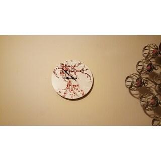 Cherry Blossom Wall Clock (China)