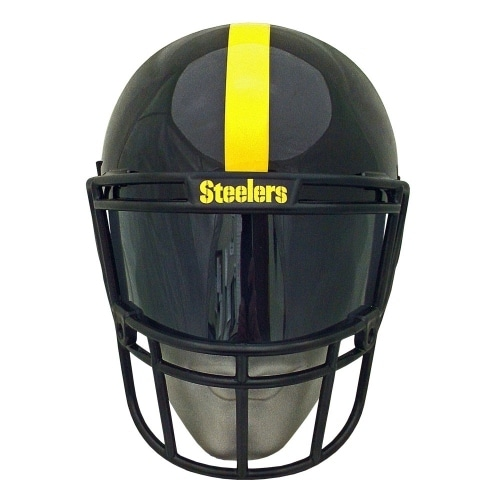 318a7fd421b Shop NFL Gear Helmet Style Fan Mask  Pittsburgh Steelers - Black - Free  Shipping On Orders Over  45 - Overstock - 16801813
