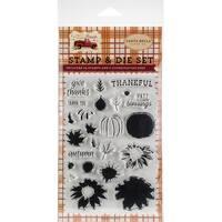 Thankful - Carte Bella Die & Stamp Combo Set