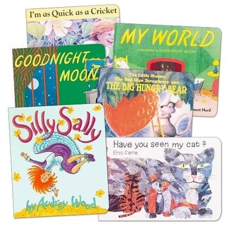 Classic Board Books Set 2 - Set of 6
