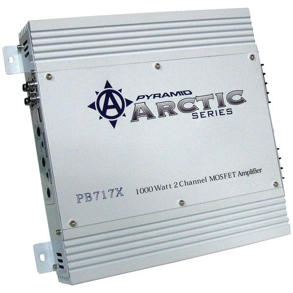 PYRAMID PB717X Arctic Series 2-Channel Bridgeable MOSFET Class AB Amp (1,000 Watts)