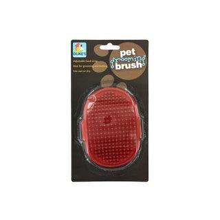 Pet Grooming Brush with Adjustable Hand Strap - Pack of 24