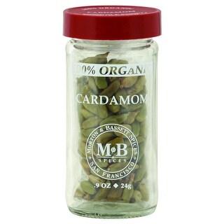 Morton & Bassett - Organic Cardamom Seasoning ( 3 - .9 OZ)