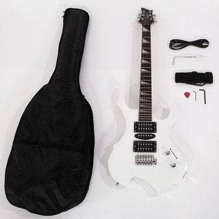Link to Glarry Flame Electric Guitar HSH Pickup Shaped Electric Guitar Similar Items in Guitars & Amplifiers