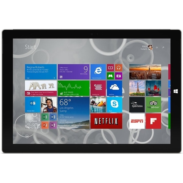 Microsoft Surface Pro 3 TQ5-00001 Tablet PC - Intel Core i7-4650U 1.7 GHz Dual-Core Processor - 8 GB-REFURBISHED