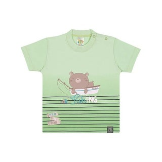 Baby Boy Graphic Tee Casual T-Shirt Pulla Bulla Sizes 3-12 Months