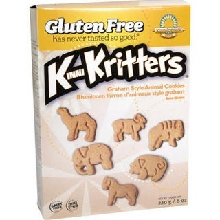 Kinnikinnick - Graham Style Animal Cookies ( 6 - 8 oz boxes)