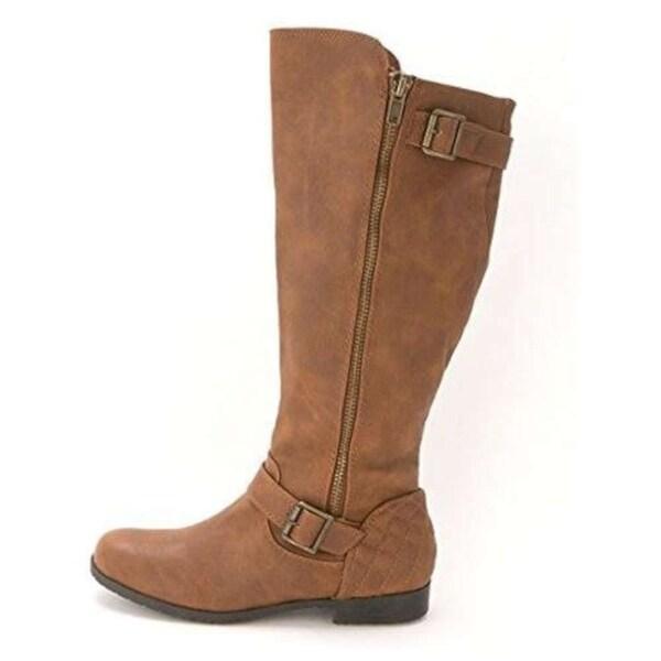 Material Girl Womens Larisa Closed Toe Knee High Fashion Boots