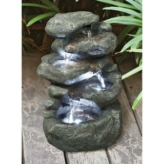 Design Toscano Anchor Falls Cascading Garden Fountain
