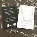Honeycat Double Layer Bar Necklace (Delicate Jewelry) - Thumbnail 6