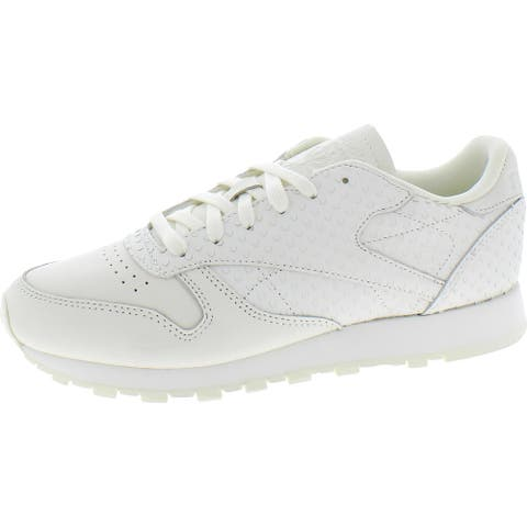 Reebok Womens Classic Sneakers Leather Fitness