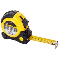 Trades Pro 25-Feet x 1-Inch Tape Measure, SAE and Metric, 837287