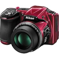 Nikon COOLPIX L830 Digital Camera (Red) (International Model)