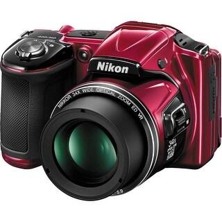 Nikon COOLPIX L830 Digital Camera (Red) (International Model)